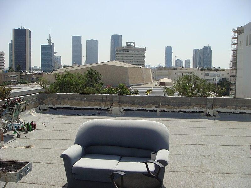 גג מתחם התרבות בתל אביב