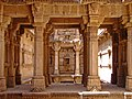 Pillars of Ambapur Vav Sepwell.jpg