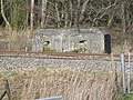 Pillbox overlooking the railway and Kennet and Avon Canal, Kintbury 03.jpg