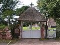 Pinhoe church gate and graveyard - geograph.org.uk - 969723.jpg