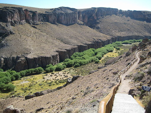 Pinturas River Canyon