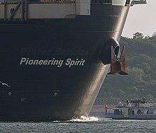 Pioneering Spirit (ship) - Wikipedia