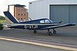 Piper PA28-140 Cherokee Cruiser 'G-AYJR' (35579602150).jpg