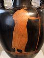 Pittore di berlino, anfora a collo alto con suonatrice di cetra, attica 480-470 ac ca, da vulci 03.JPG