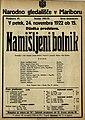 Plakat za predstavo Namišljeni bolnik v Narodnem gledališču v Mariboru 24. novembra 1922.jpg