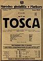 Plakat za predstavo Tosca v Narodnem gledališču v Mariboru 21. junija 1925.jpg