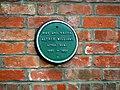Plaque, Rose Cottage, South Marston - geograph.org.uk - 1845861.jpg