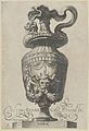 Plate 3- Vase with a satyr's mask and garlands, from Antique Vases (Vasa a Polydoro Caravagino) MET DP837052.jpg