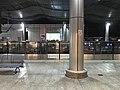 Platform of Andemen Station from train of Nanjing Metro Line 1.jpg
