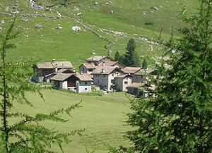 Sils im Engadin/Segl - Settlement in the Fex Valley