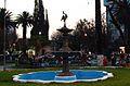 Plaza Colon (Fuente con la Garza).jpg