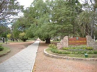 Capilla del Monte - Image: Plaza San Martín, Capilla del Monte