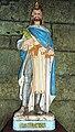 Plouyé 24 église paroissiale statue de Saint-Salomon.JPG