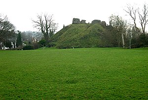 Plympton - Plympton's motte and bailey castle