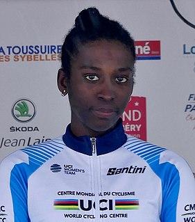 Teniel Campbell Trinidadian cyclist