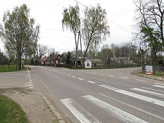 Turośń Dolna Village in Podlaskie Voivodeship, Poland