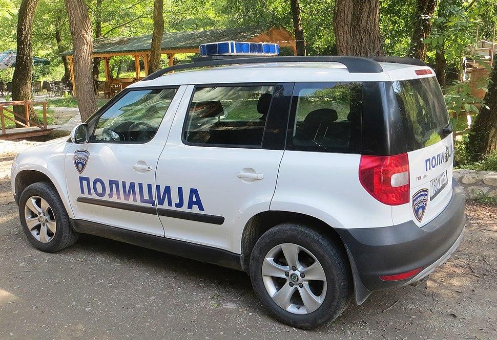 Police car of Macedonia 04