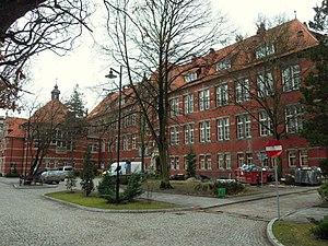 Faculty of Chemistry, Gdańsk University of Technology - Image: Politechnika Gdańska – Chemia A (stara chemia)
