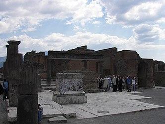 Pompeii forum statue bases.jpg