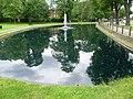 Pond at London Road, Beddington (geograph 2991362).jpg