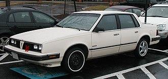 Pontiac 6000 - 1985–1986 Pontiac 6000 sedan