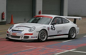 Porsche Carrera Cup Great Britain - Carrera Cup Car