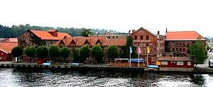 Johan Jeremiassen - Porsgrunds Porselænsfabrik in Telemark