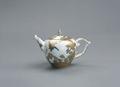 Porslin. En tekanna med gulddekor - Hallwylska museet - 89144.tif