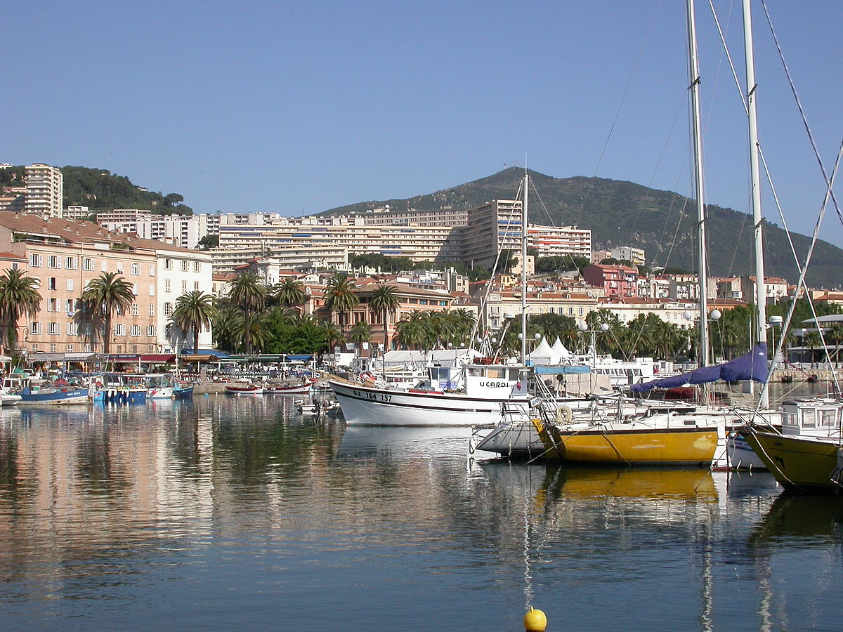 Ajaccio wikipedia - Place de port disponible mediterranee ...