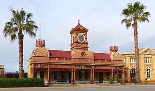 Port Pirie railway station (Ellen Street)