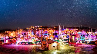 Port de Grave Christmas Boat Lighting, Newfoundland, Canada.jpg