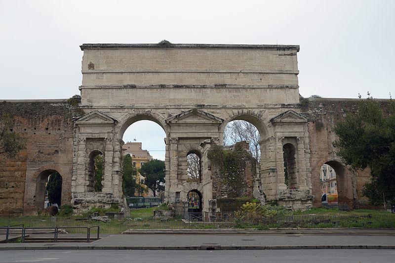 Fichier Porta Maggiore Larger Gate Or Porta Prenestina
