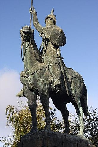 Vímara Peres - Equestrian statue of Vímara Peres in Porto