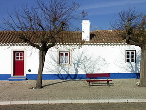 Typical Portuguese house, Porto Covo