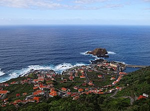Porto Moniz - The main settlement of Porto Moniz