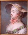 Porträtt. Juliana Dorotea Henk 1733-1792, gift 1750 med bruksägaren Vilhelm Schröder - Skoklosters slott - 13613.tif