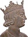 Portrait Roi de france Dagobert II (i.e III)