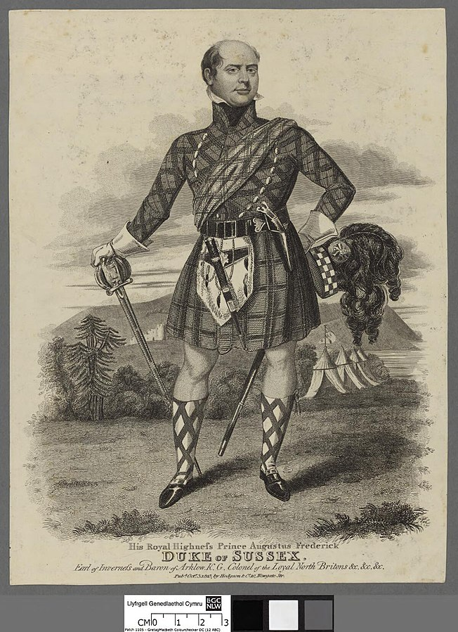 His Royal Highnefs Prince Augustus Frederick Duke of Sussex