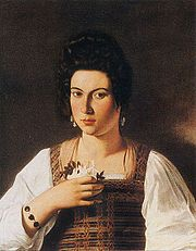 Portrait of a Courtesan by Caravaggio.jpg