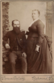 Portrait of man and woman by Vernon Gallery of Richmond Virginia.png