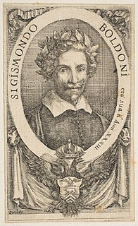 Sigismondo Boldoni Italian poet and writer