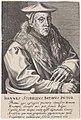 Portret van Jan van Scorel Ioannes Scorellus Batavus Pictor. (titel op object) Pictorum Aliquot Celebrium Praecipuae Germaniae Inferioris Effigies (serietitel), RP-P-OB-55.211.jpg
