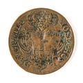 Portugisiskt mynt, 1734 - Skoklosters slott - 109468.tif