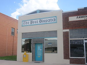 Garza County, Texas - Post Dispatch newspaper covers local events of Garza County.