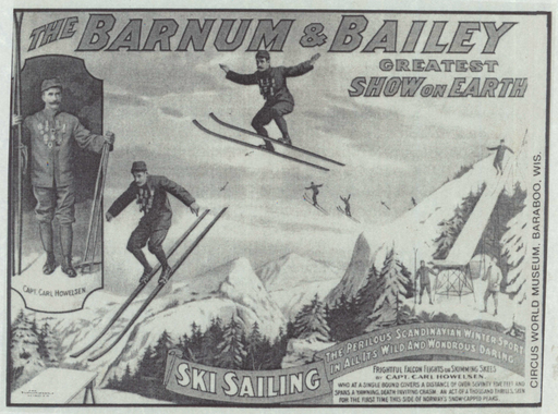 Poster du Ringling Bros. and Barnum & Bailey Circus en 1907