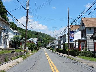 Cressona, Pennsylvania - Pottsville Street in Cressona