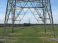 Power lines near Hinckley Point power station - geograph.org.uk - 1166747.jpg