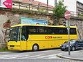 Praha, Karlín, Prvního pluku, autobus CDS Náchod.jpg