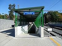 Praha-Klánovice, nový podchod (02).jpg