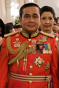 Prayut Chan-O-Cha in 1st Infantry Regiment's royal guard uniform.jpg